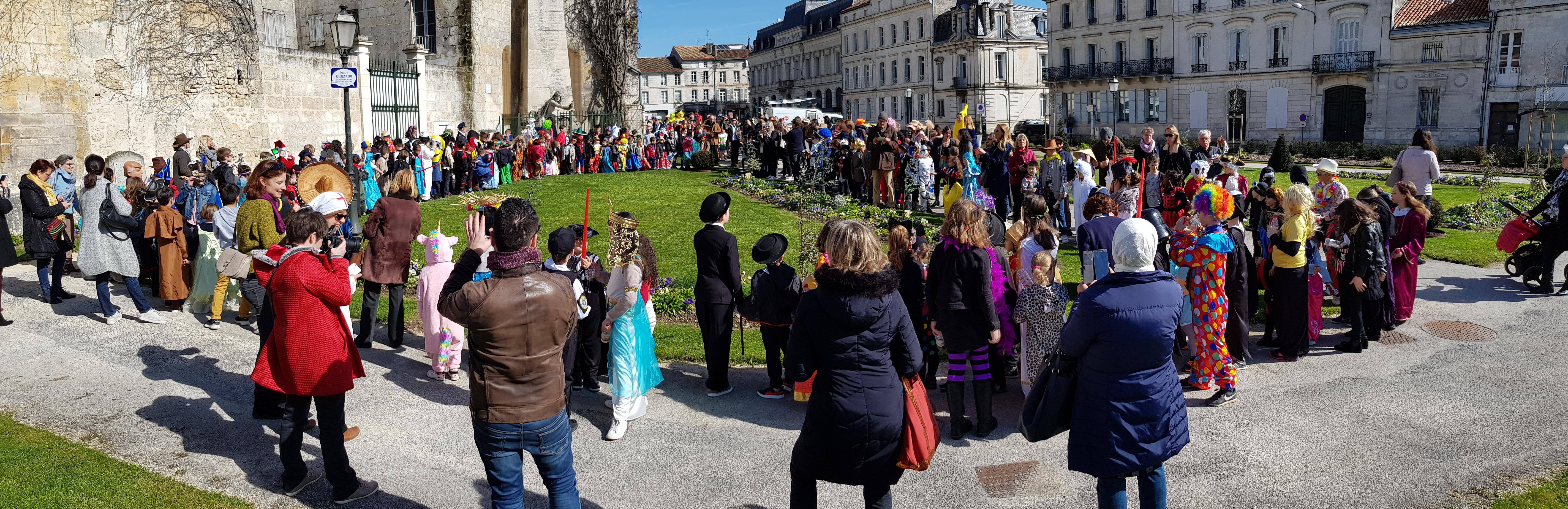 Ecole Saint-Paul fait son Carnaval