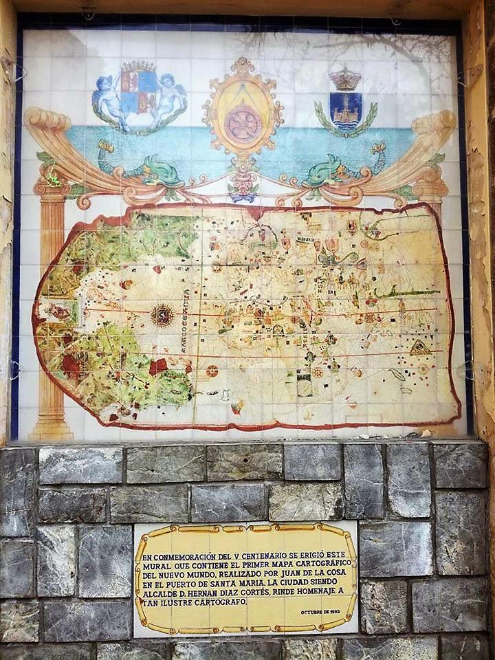 El Puerto de Sta Maria Carte du Nouveau Monde