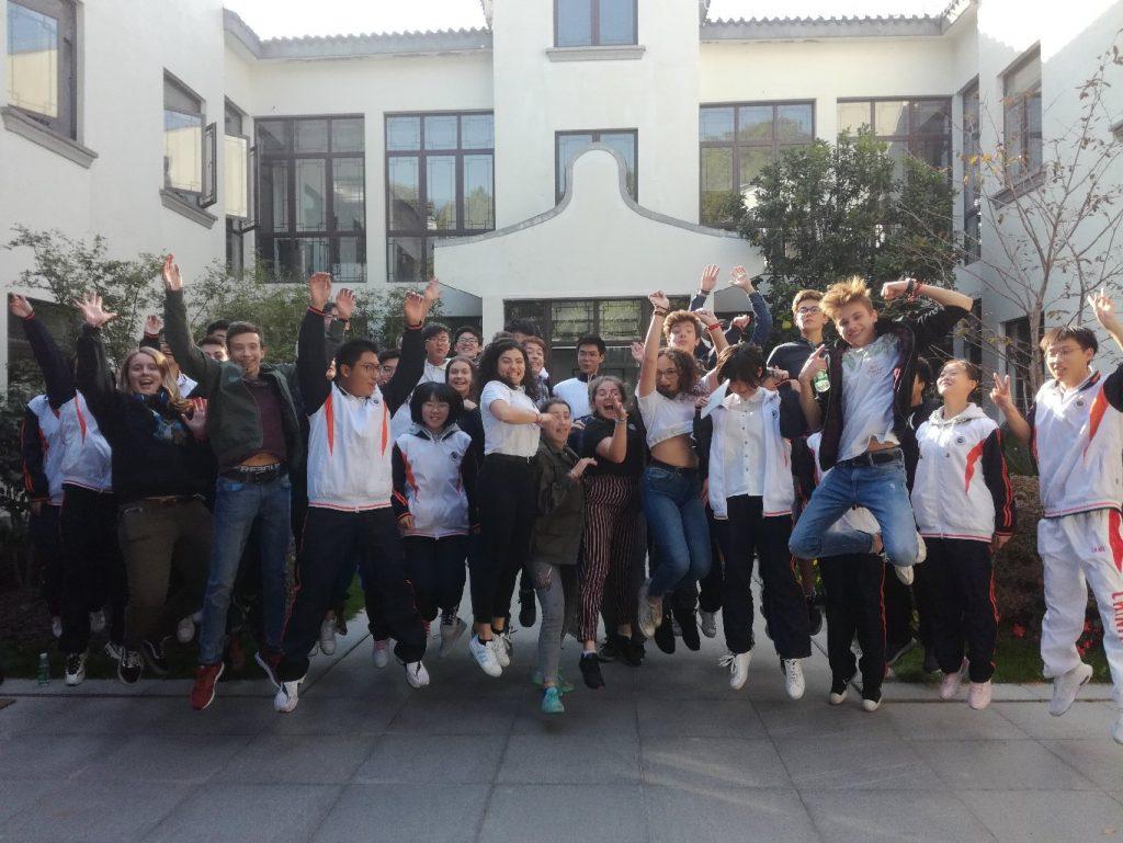 Jumelage : français et chinois heureux