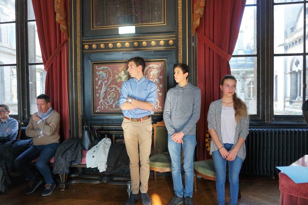 Les 3 finalistes du Jury 1