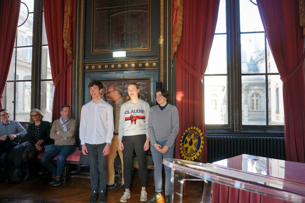 Les 3 finalistes du Jury 2