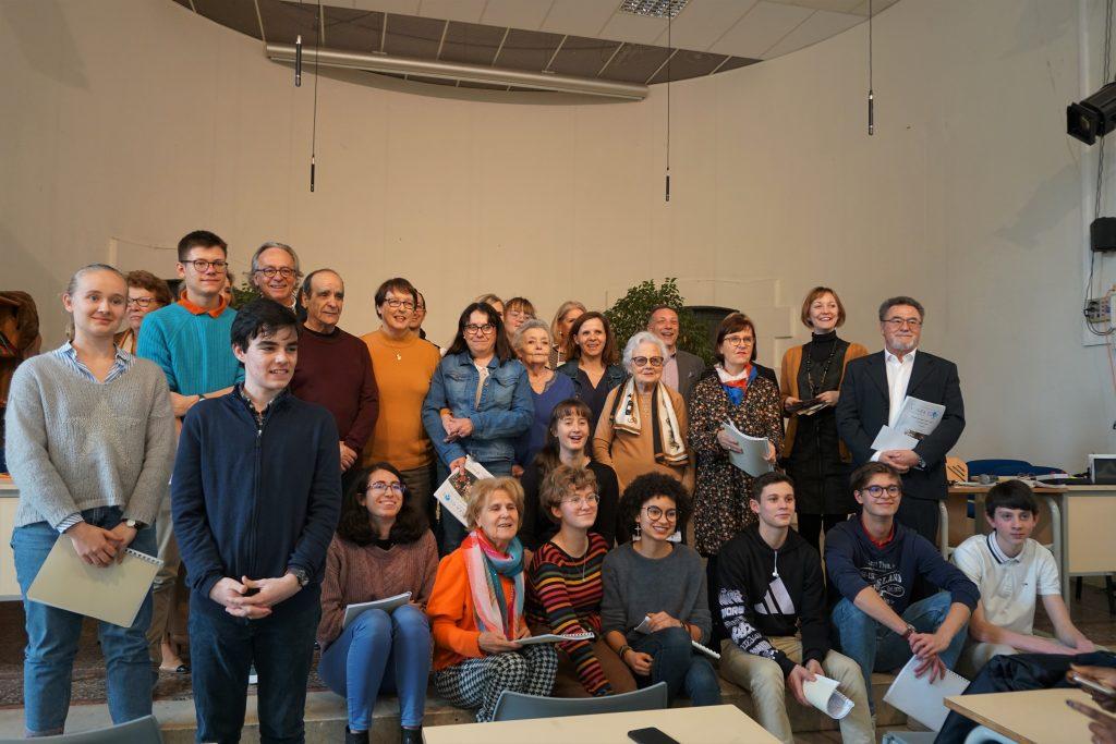 Tous les participants au concours de nouvelle